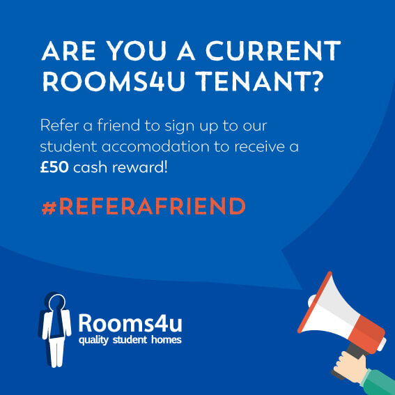 refer a friend from Rooms4U